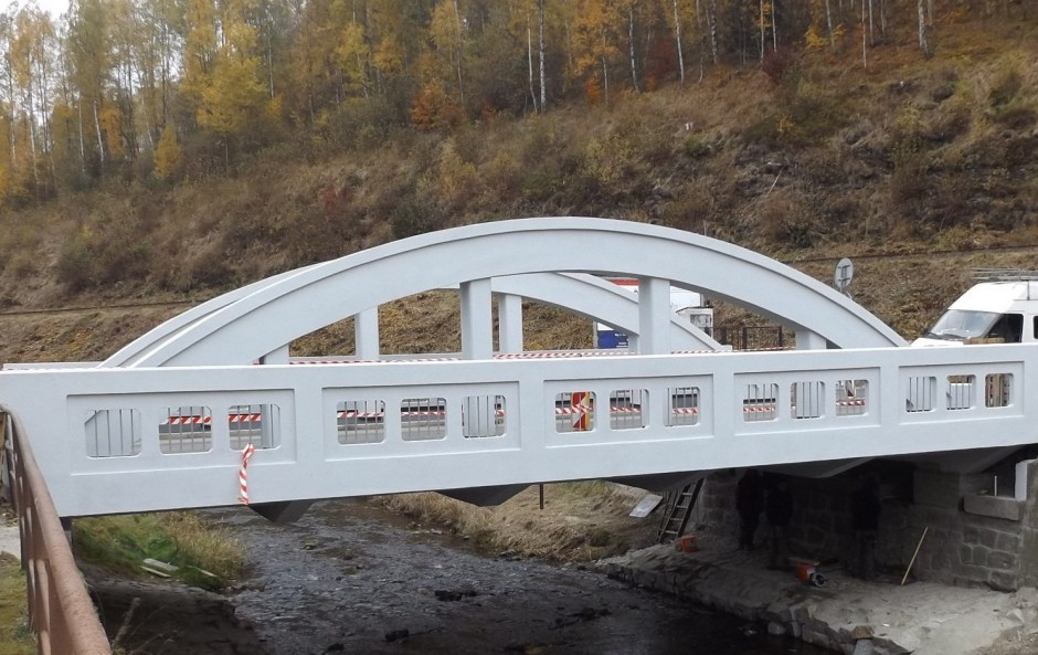 Most v ul. Palackeho Kraslice