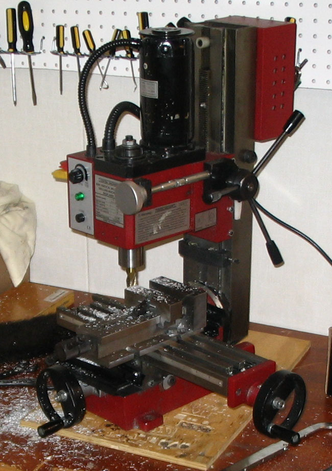 Miniature_milling_machine
