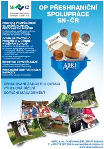 OP Přeshraniční spolupráce ČR - Sasko (po klepnutí se otevře leták v PDF)